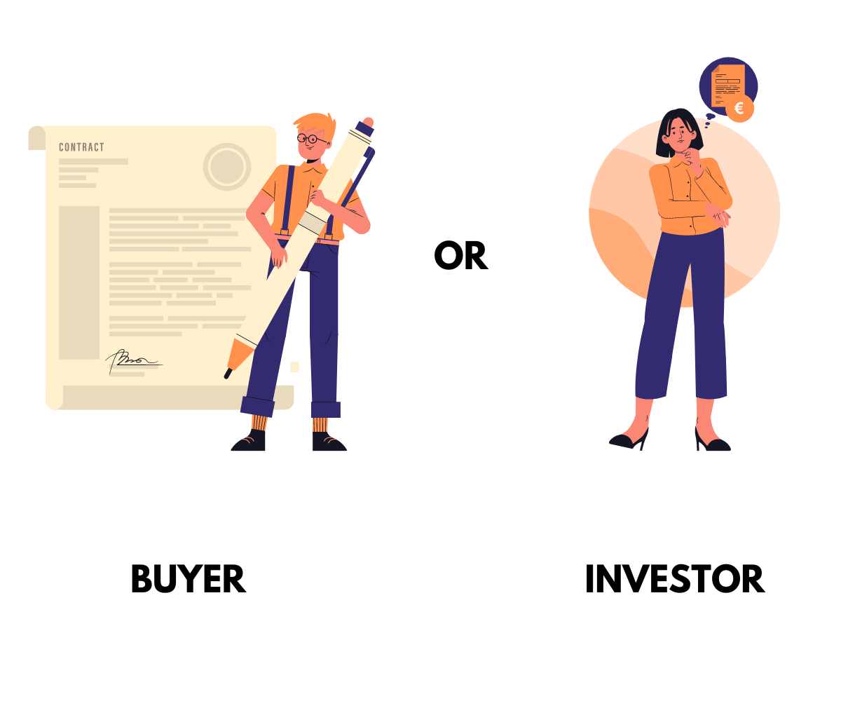 Infographic explainer on purchasing real estate in Croatia.